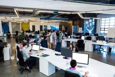 Bureau en open space